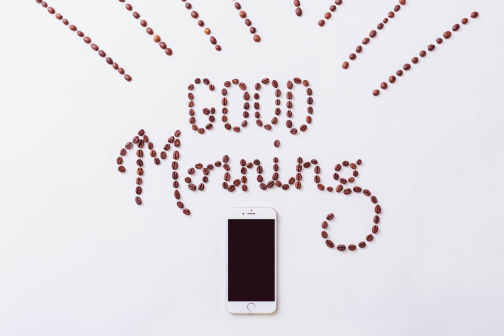 Πρωινή ρουτίνα καφές
