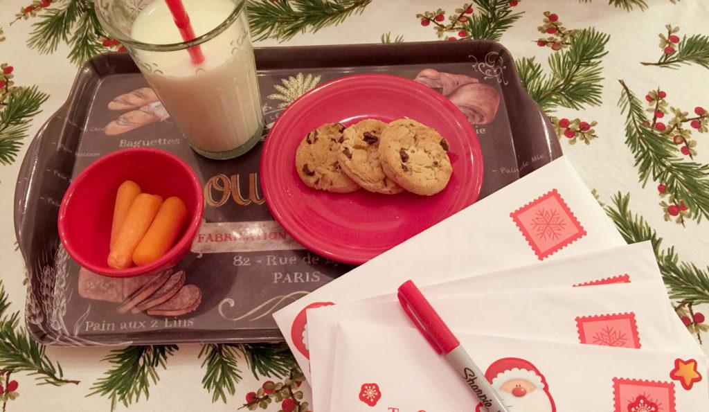 Το γιορτινό τραπέζι - ο Αγιος Βασίλης