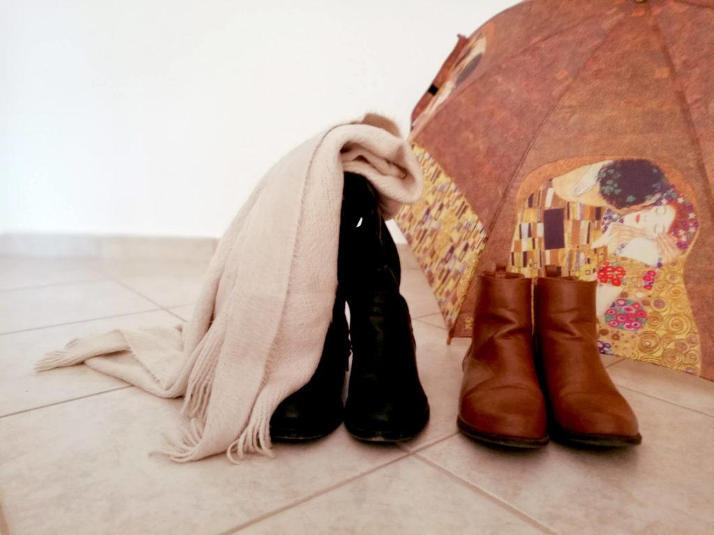 χειμωνιάτικη γκαρνταρόμπα παπούτσια