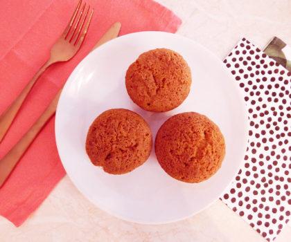 Γλυκά muffins καρότου