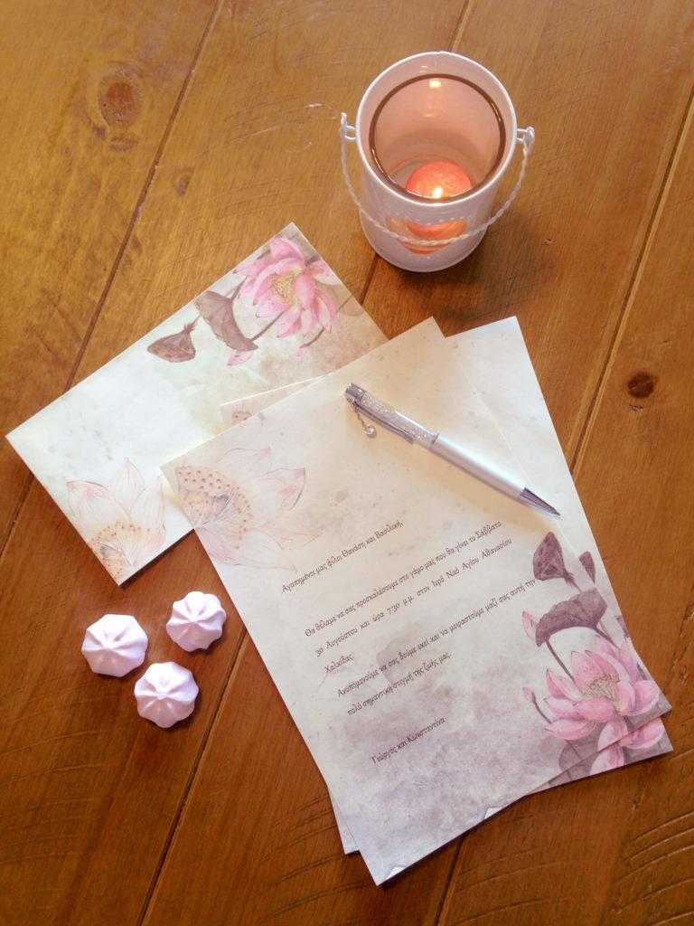 εναλλακτικές προτάσεις για γαμήλιες προσκλήσεις χειροτεχνια