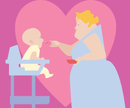 Το τάισμα του μωρού