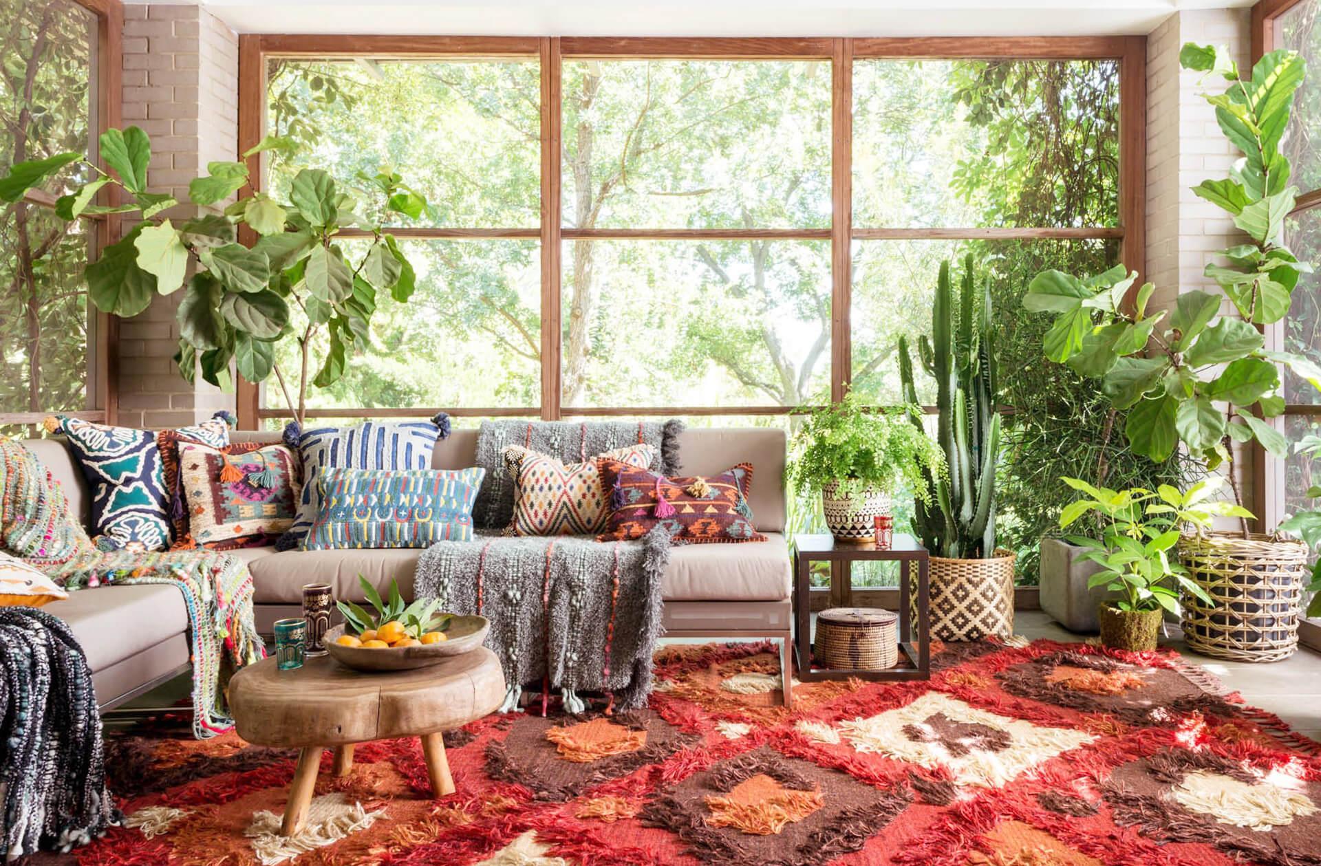 Το Bohemian Style στο σπίτι