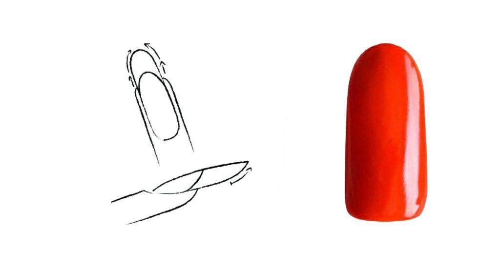 Πώς να λιμάρετε πέντε βασικά σχήματα νυχιών - στρογγυλό