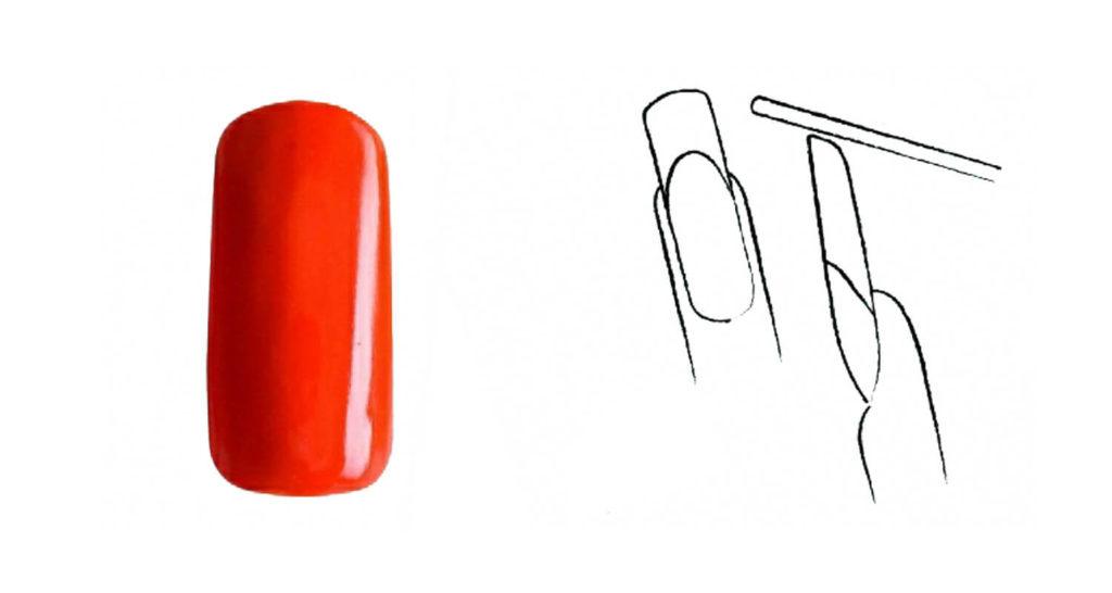 Πώς να λιμάρετε πέντε βασικά σχήματα νυχιών - τετράγωνο οβάλ