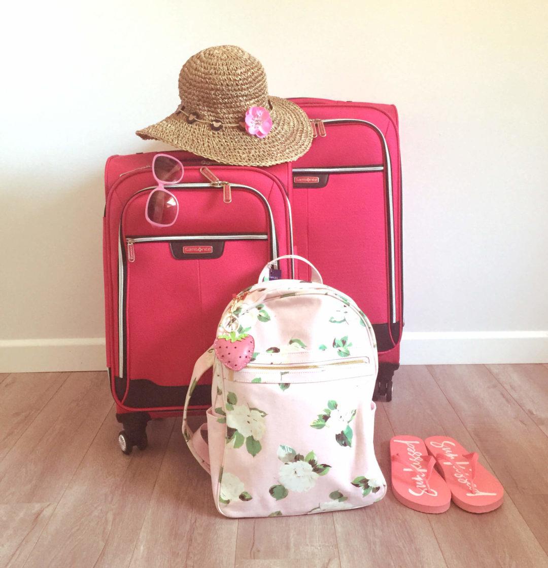 Καλοπακεταρισμένη καλοκαιρινή βαλίτσα
