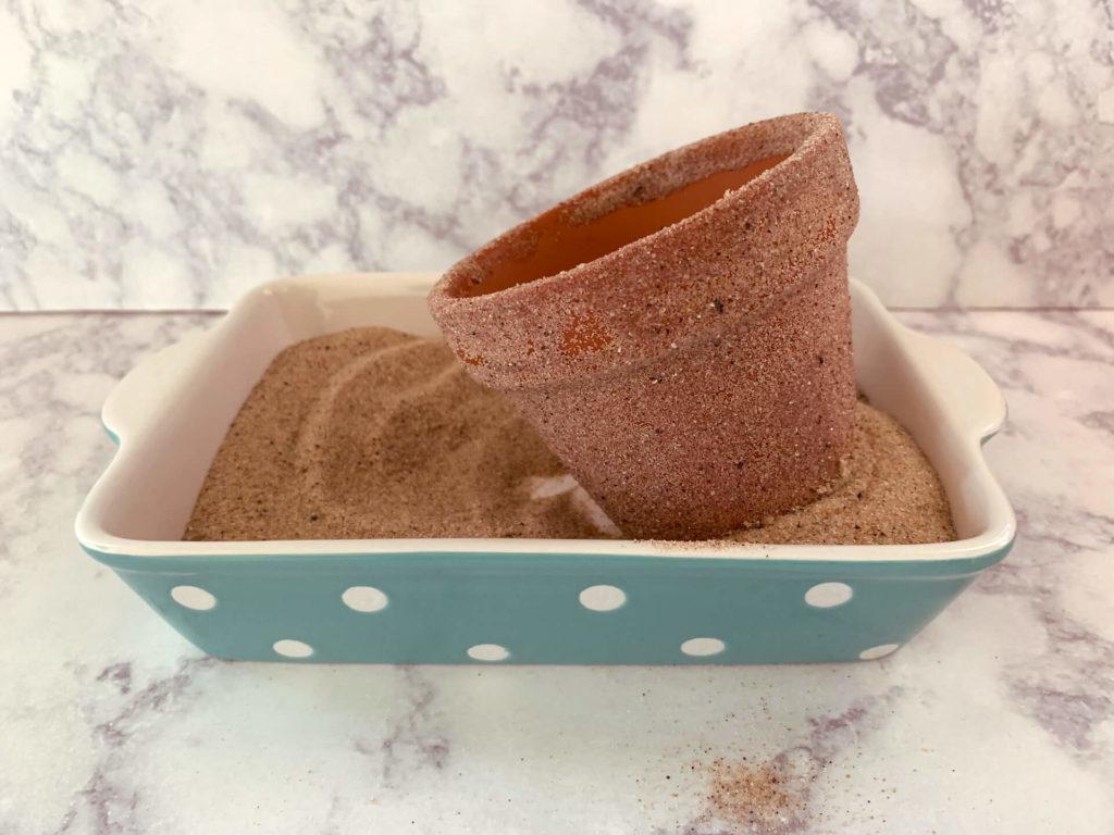 Καλοκαιρινά κεράκια με άμμο