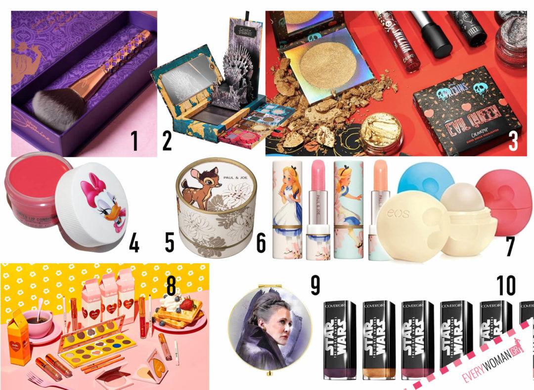 Συνεργασίες εταιριών για προϊόντα μακιγιάζ