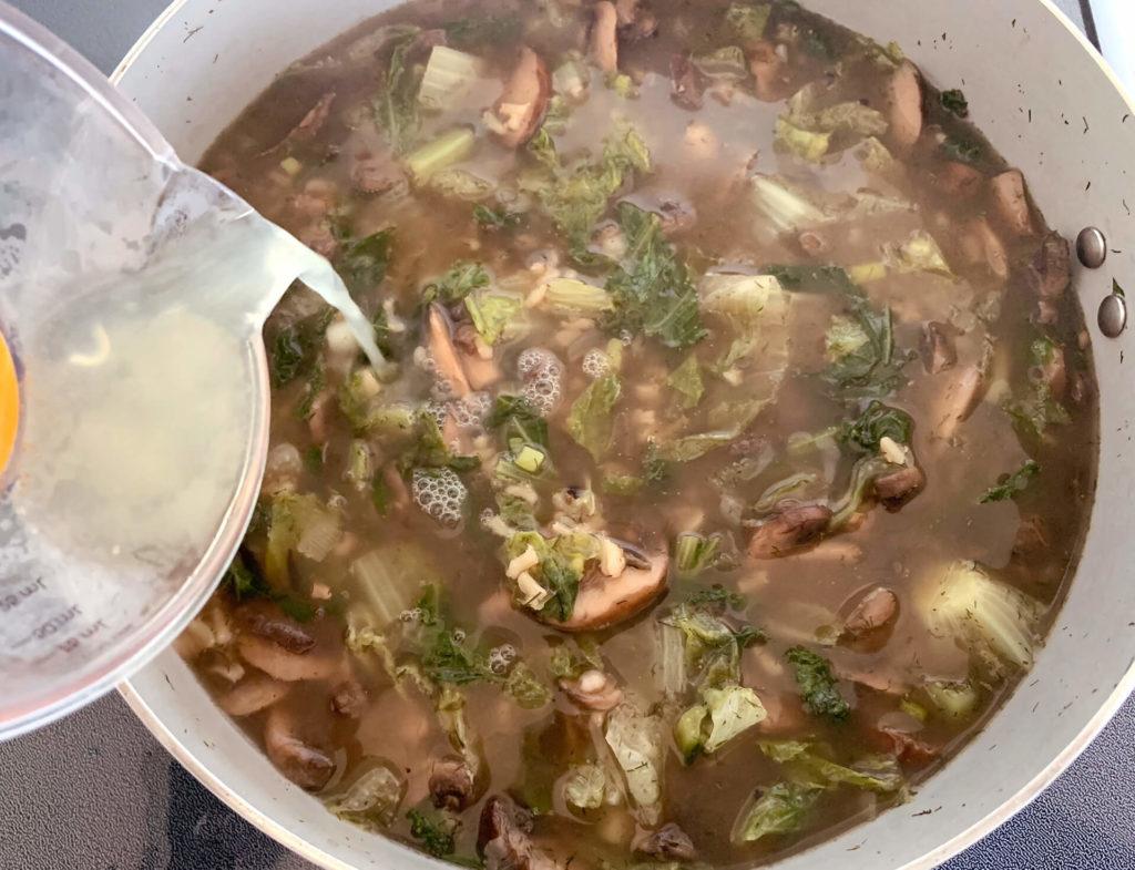 Μαγειρίτσα για χορτοφάγους
