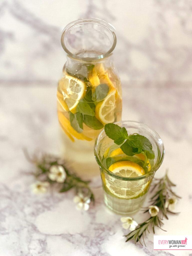 Δροσερή Λεμονάδα