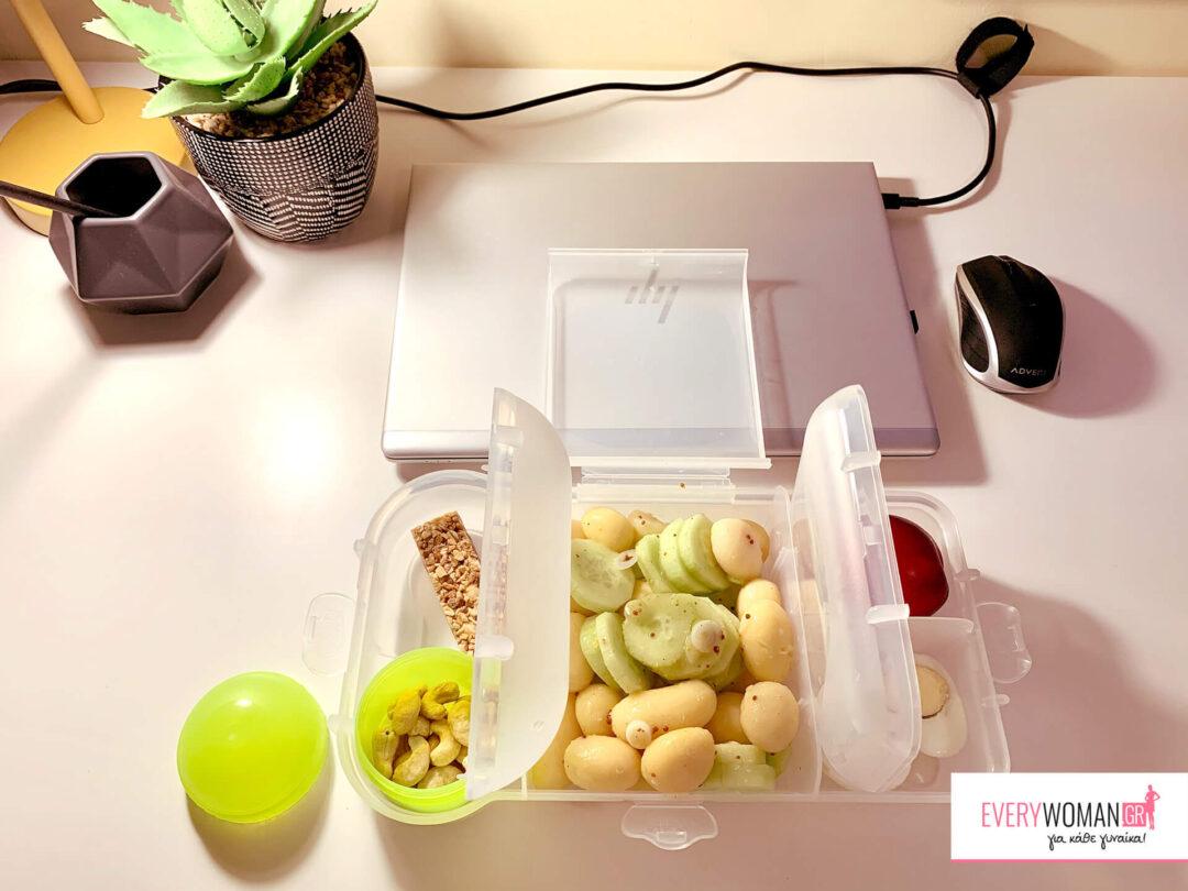 Ιδέες για μεσημεριανά & ελαφριά γεύματα στη δουλειά