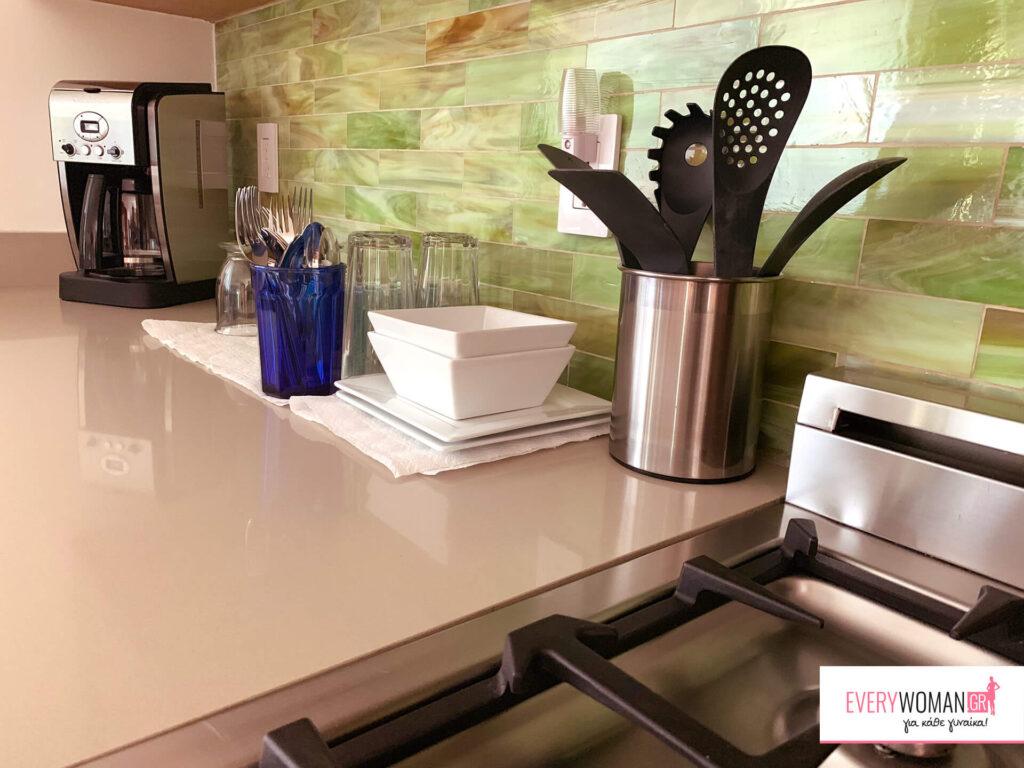 6 βήματα για άμεση οργάνωση κουζίνας και τραπεζαρίας