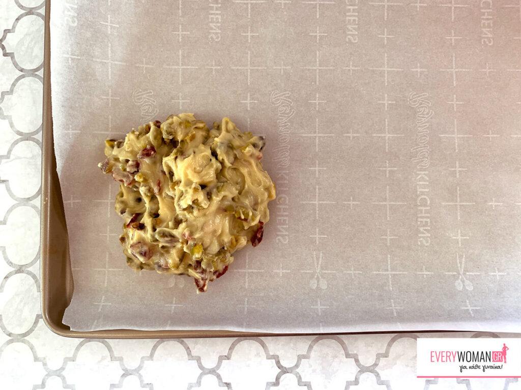Διπλοφουρνιστά biscotti με φιστίκια αιγίνης