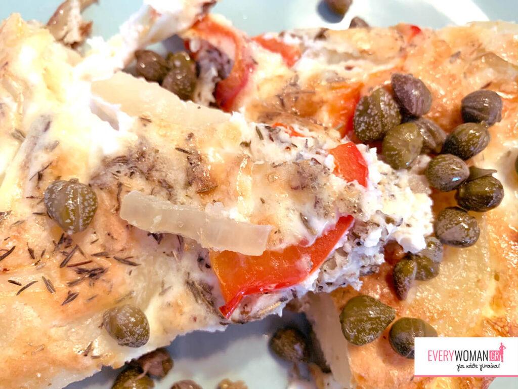 Ισπανική ομελέτα φούρνου (φριτάτα)