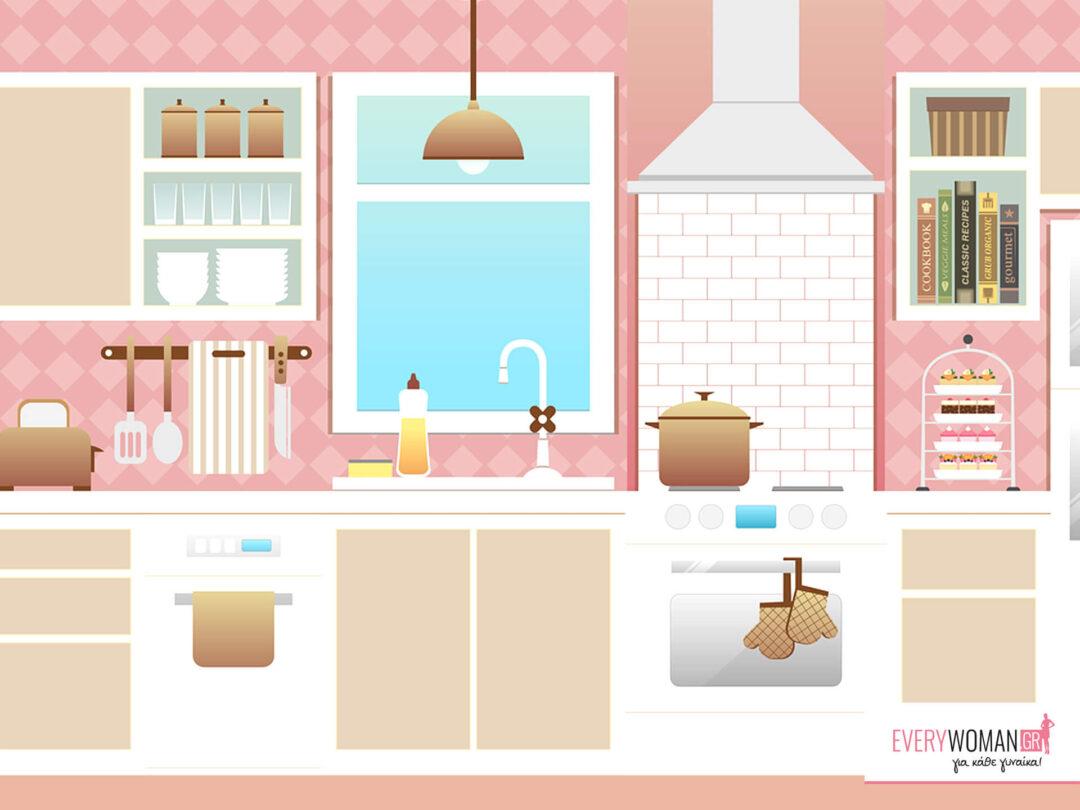 5 τρόποι για να ομορφύνεις την κουζίνα σου