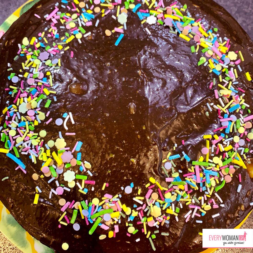 Κέικ σοκολάτας με αβοκάντο