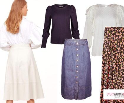 Πώς να φορέσεις τη midi φούστα σου