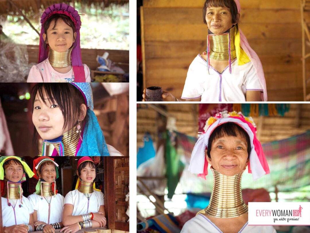 Η ομορφιά ανά τον κόσμο - Ταϊλάνδη: Τα δαχτυλίδια του λαιμού