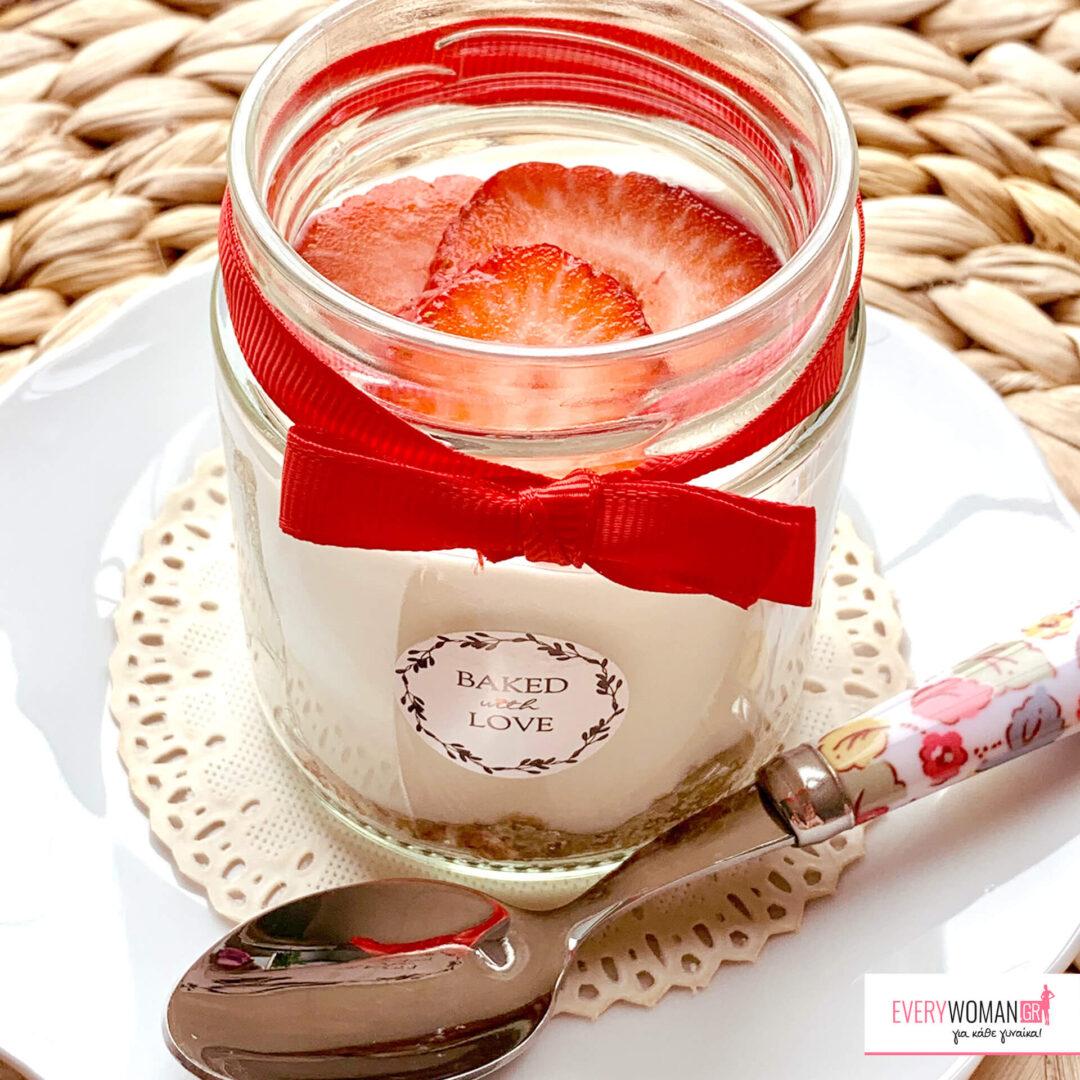 Το πιο ελαφρύ cheesecake