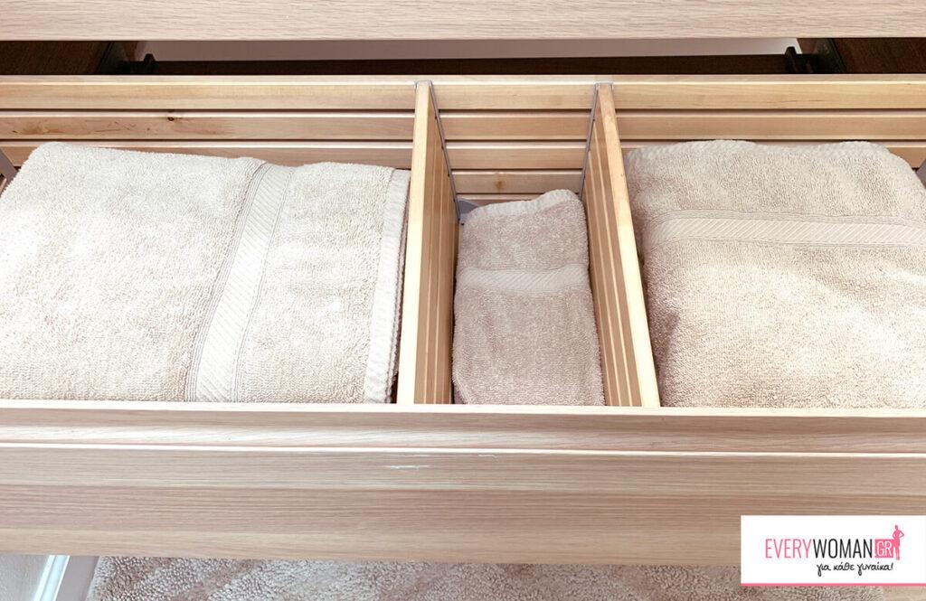 5 ιδέες για ένα πιο οργανωμένο μπάνιο