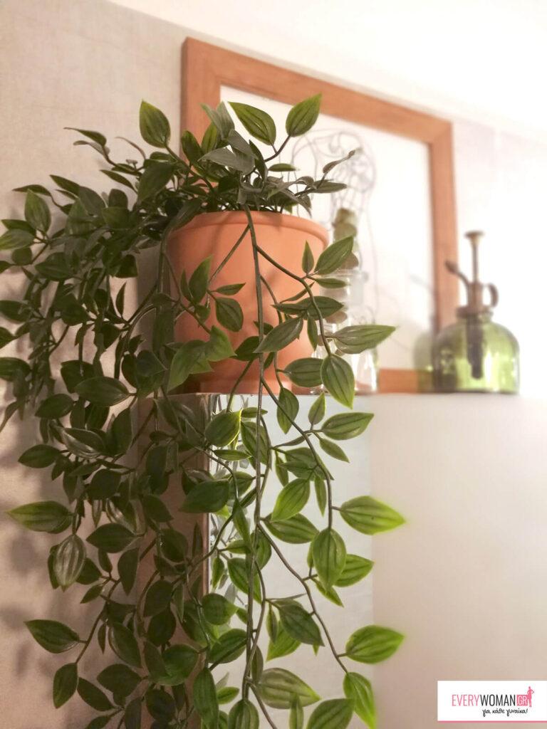 Διακόσμηση με τεχνητά φυτά