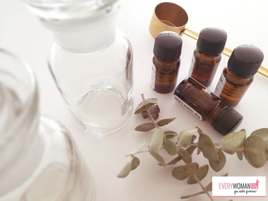 DIY: Φτιάξε το προσωπικό σου άρωμα στο σπίτι