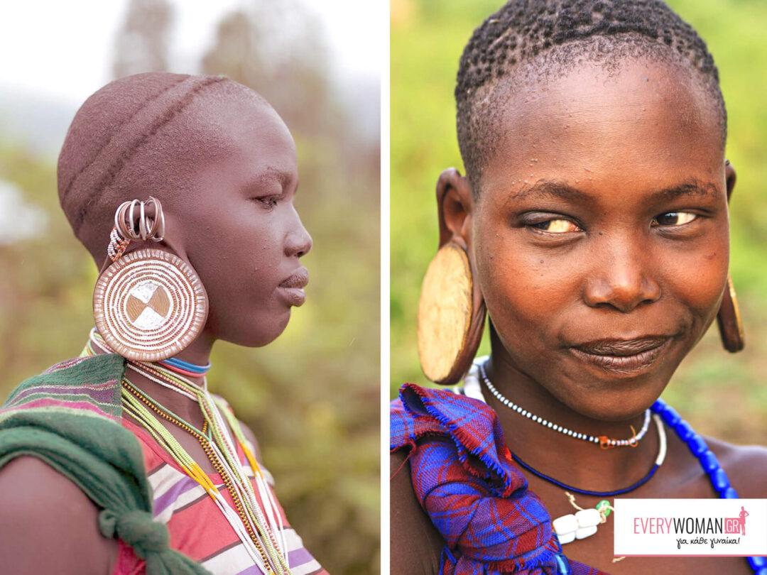 Η ομορφιά ανά τον κόσμο: Κένυα, τα στολισμένα αυτιά