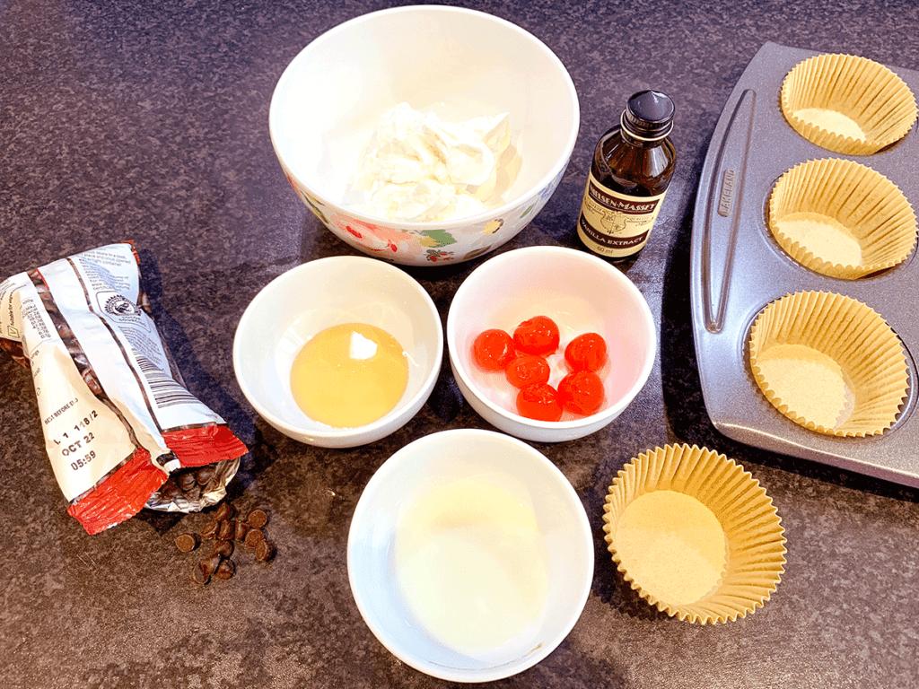 Μπουκίτσες frozen yogurt με φρούτα