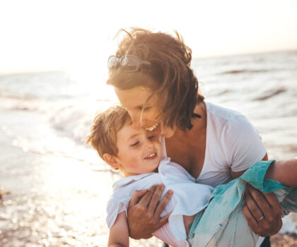 Χρόνος με την οικογένεια: Παιχνίδια στη θάλασσα
