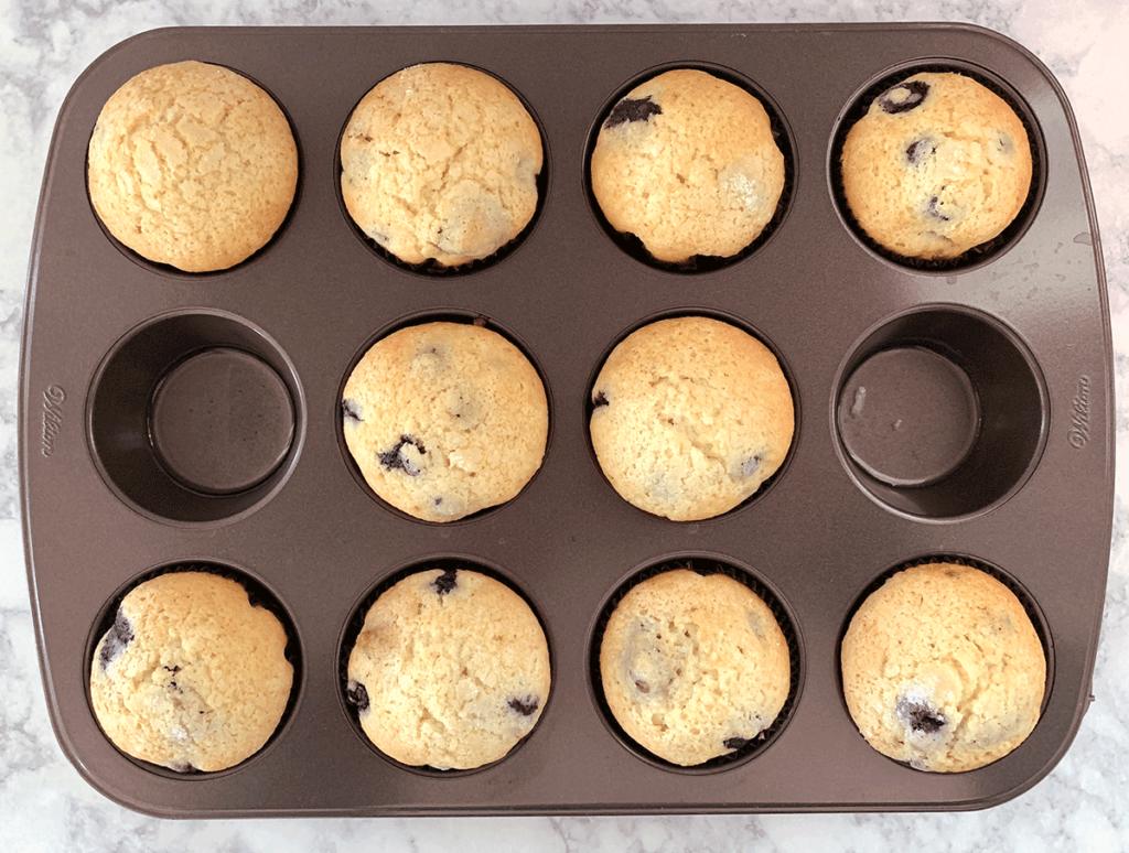 Απολαυστικά muffins με βατόμουρα